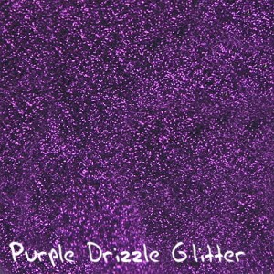 Purple Drizzle Glitter
