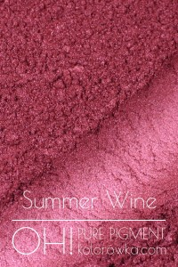 OH! PURE PIGMENT Summer Wine