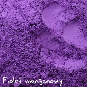 Fiolet manganowy - matowy pigment mineralny