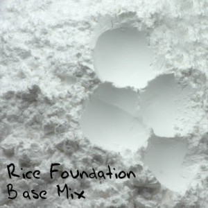 Rice Foundation Base Mix