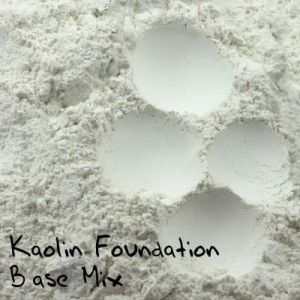 Kaolin Foundation Base Mix