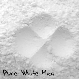 Pure White Mica