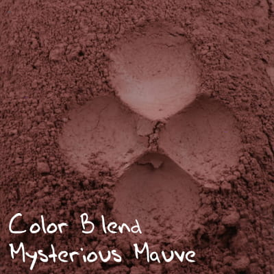 Color Blend Mysterious Mauve